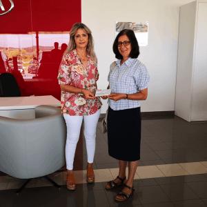 Prémio Multiribeiro entregue ao Centro de Recuperação de Menores D. Manuel Trindade Salgueiro de Assumar - Monforte